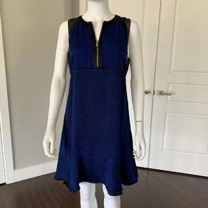 3.1 Phillip Lim blue and black dress